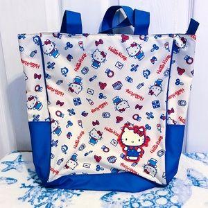 ❤️🤍💙 Hello Kitty Tote Bag